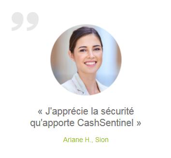 CashSentinal Testimonial 1