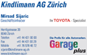 Kindlimann AG Zürich Garage Plus