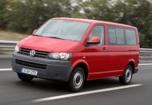 VW T5 2.0, Front + links, Combi, Rot